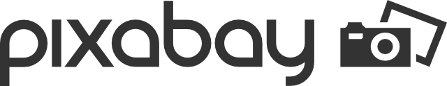 Pixabay logo with link to website