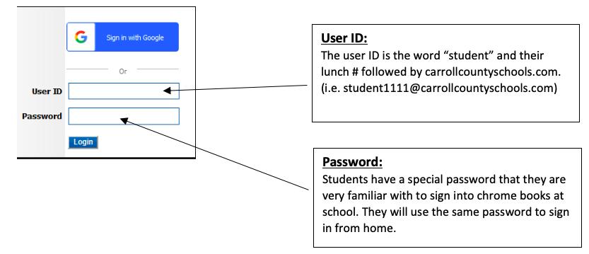 Google Sign-in Credentials