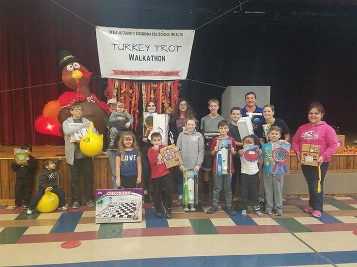 Turkey Trot at the County Complex