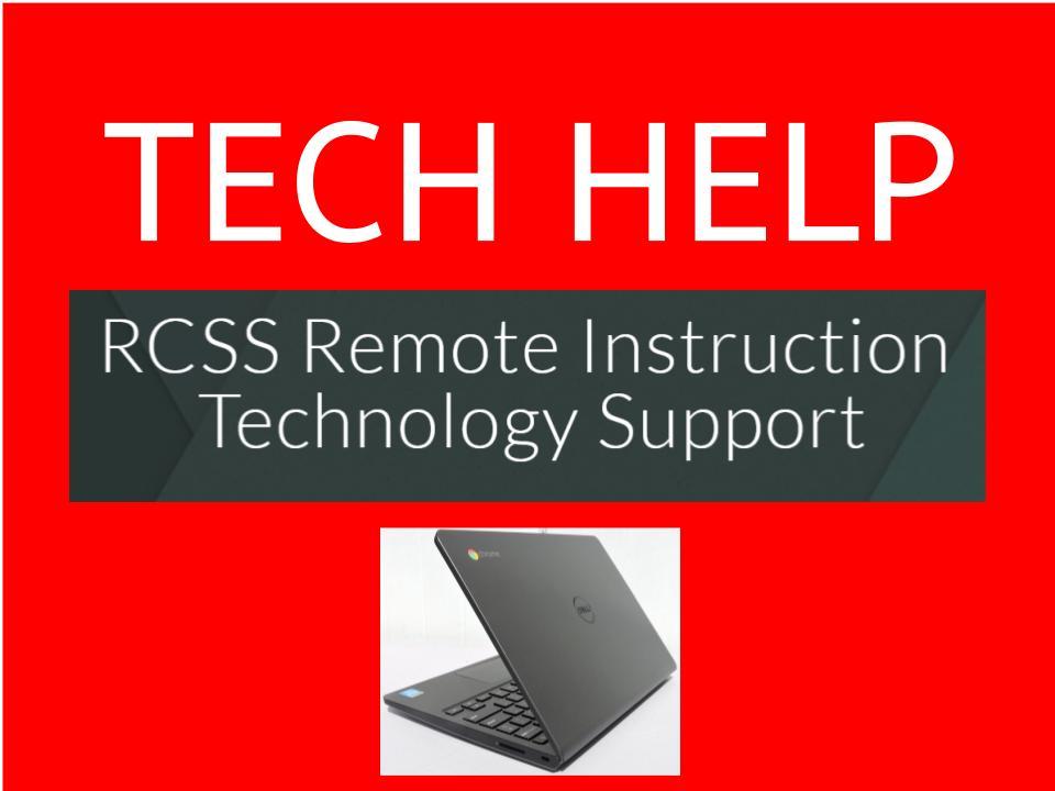 RCSS Tech Help