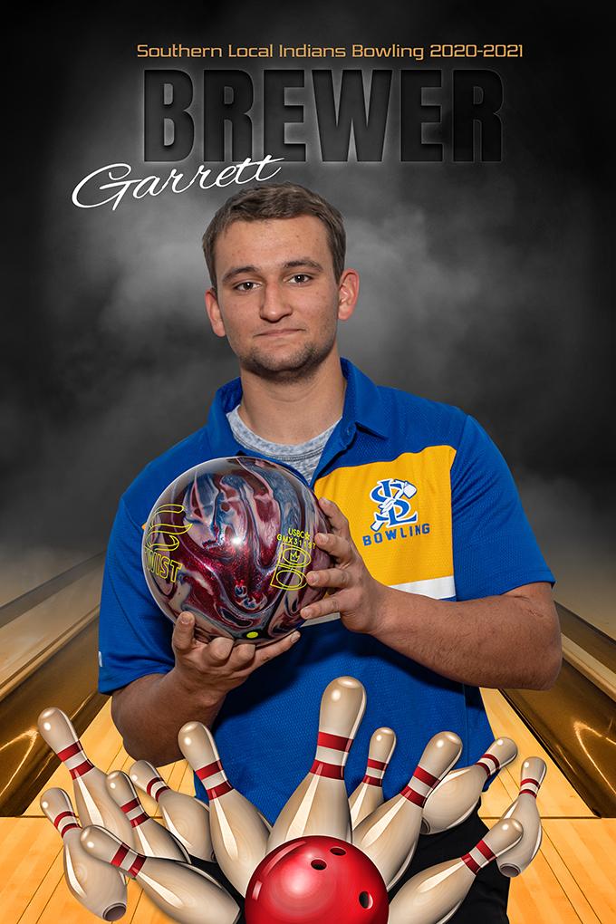 Senior Garrett Brewer