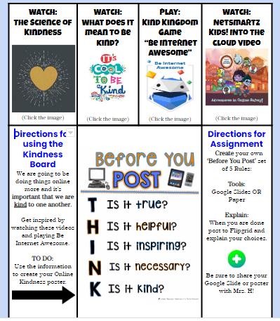 Kindness Hyperdoc