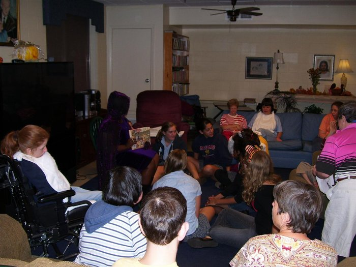 Mulherin Home Halloween 2008
