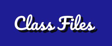 Class Files