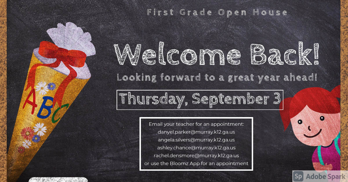 First Grade Open House