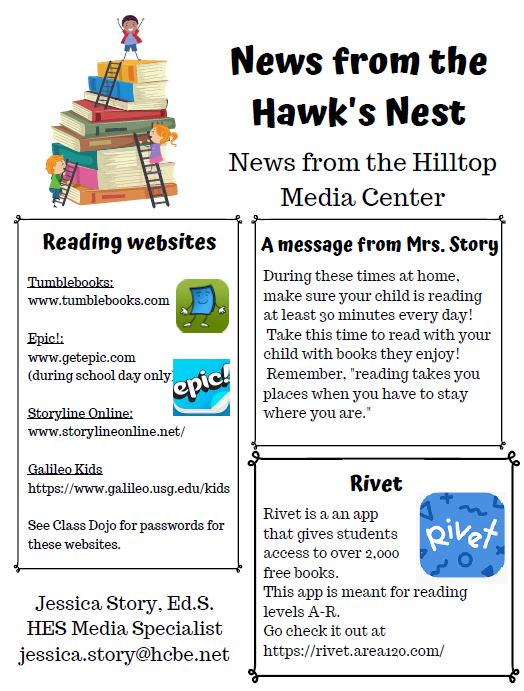 Media center newsletter pg1