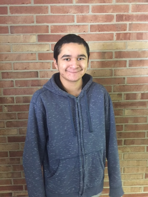 8th Grade Student of the Month Juan Gonzales
