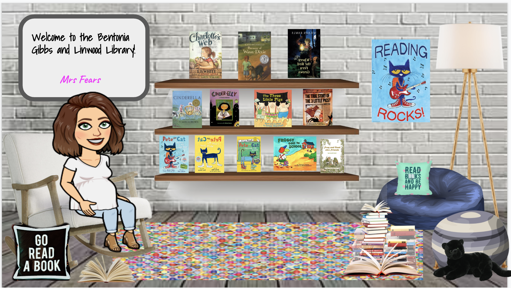Mrs Fears Bitmoji Library