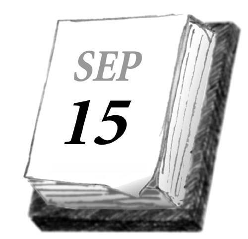 September 15
