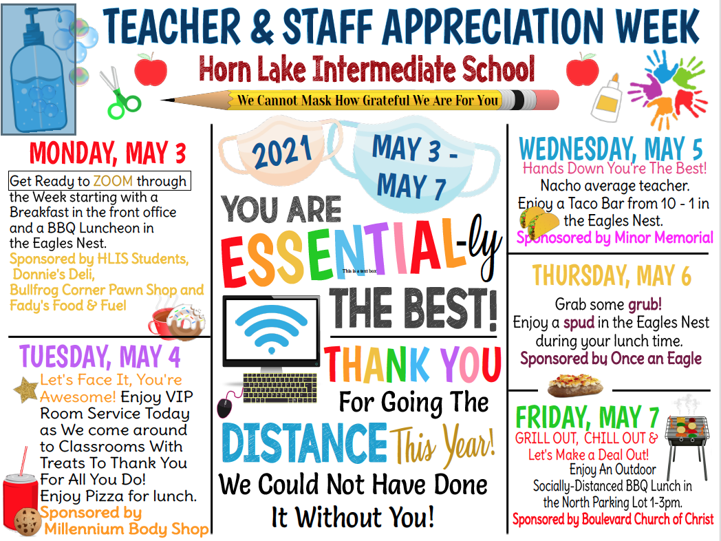 Teacher Appreciation Week Events