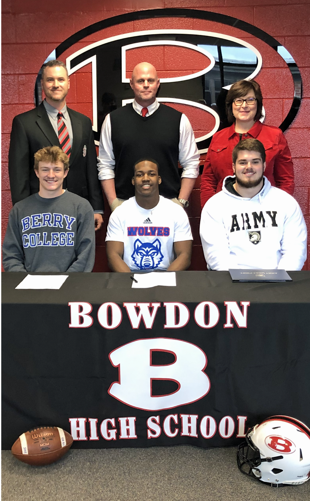 3 students sign on National Signing Day