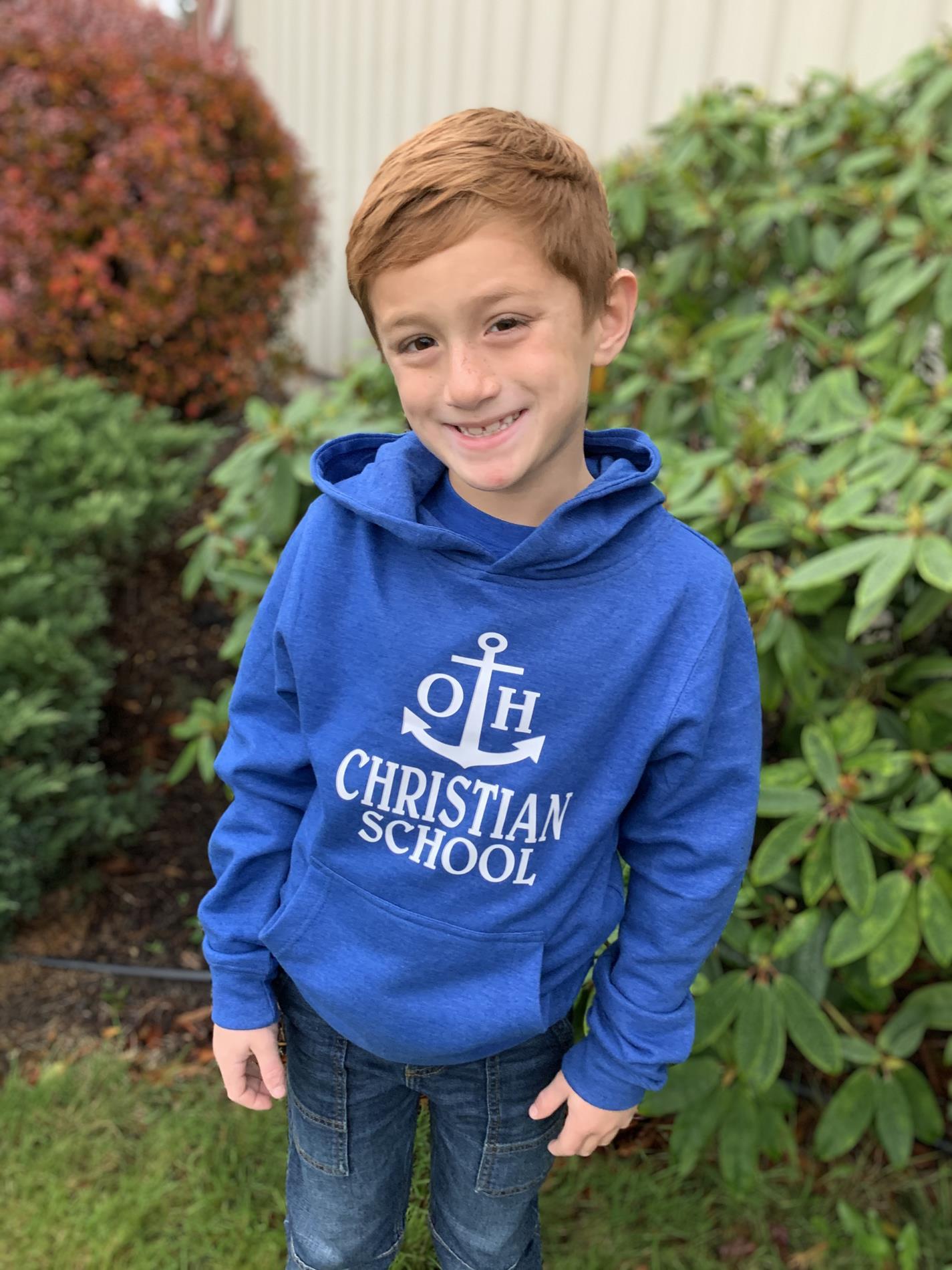 Preschool size sweatshirt