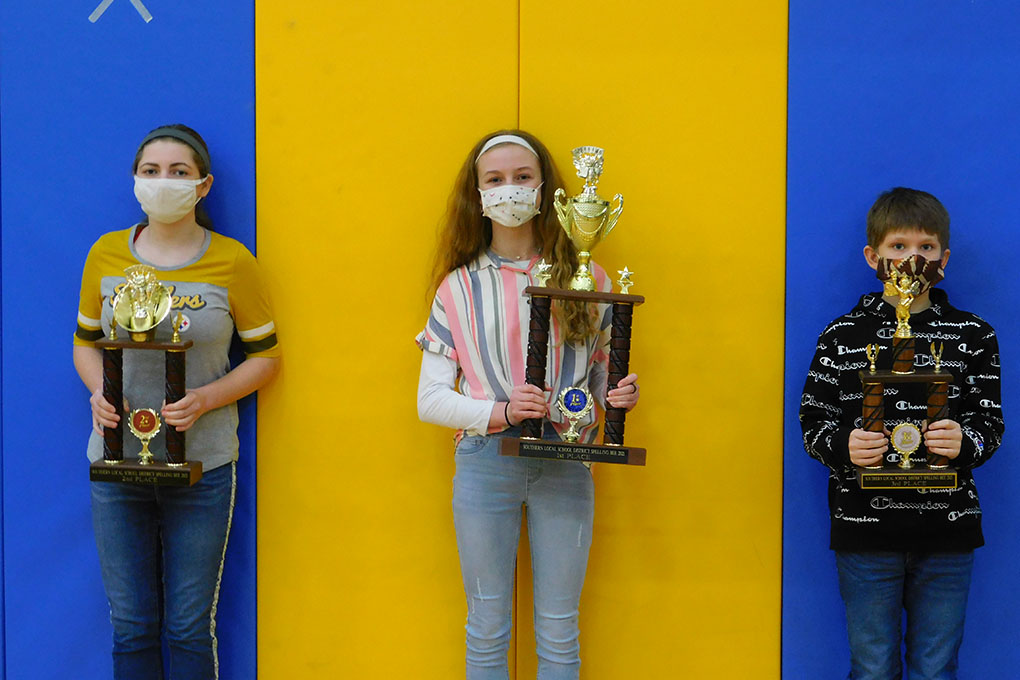 2021 District Spelling Bee Champions