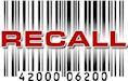 recall barcode