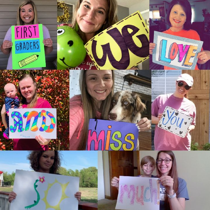 WE LOVE AND MISS YOU ALL!!!