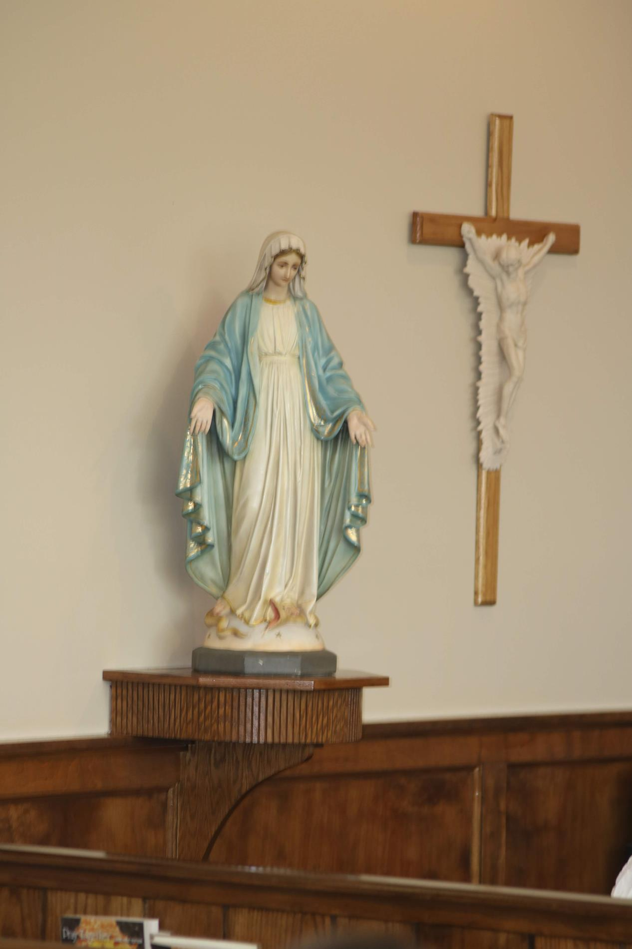 Our beautiful Blessed Mother