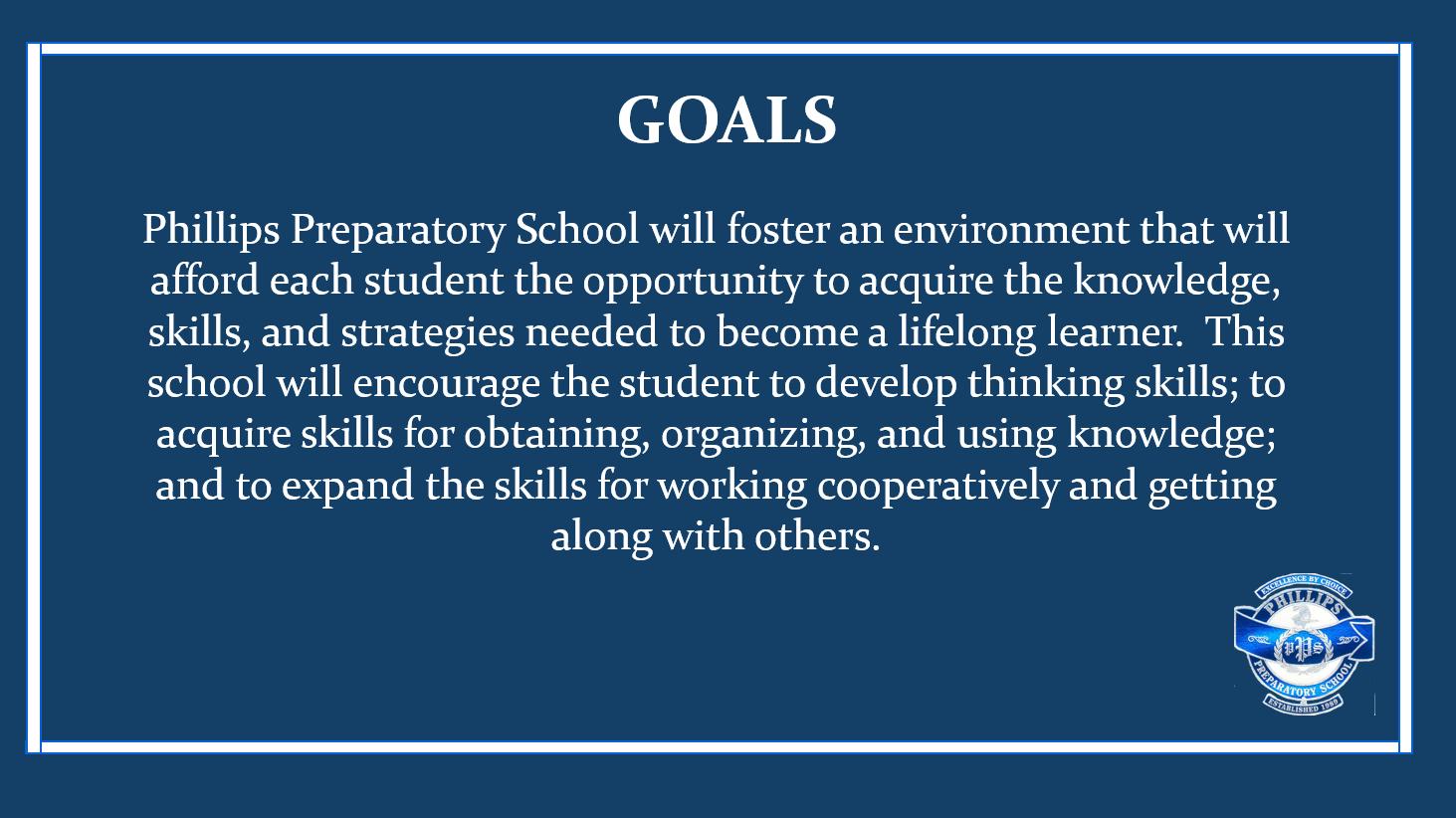 PPS Goals