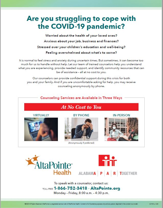 Are you struggling to cope with the COVID-19 pandemic? Worried about the health of your loved ones? Anxious about your job, business and finances Stressed over your children's education and well-being? Feeling overwhelmed about what's to come?