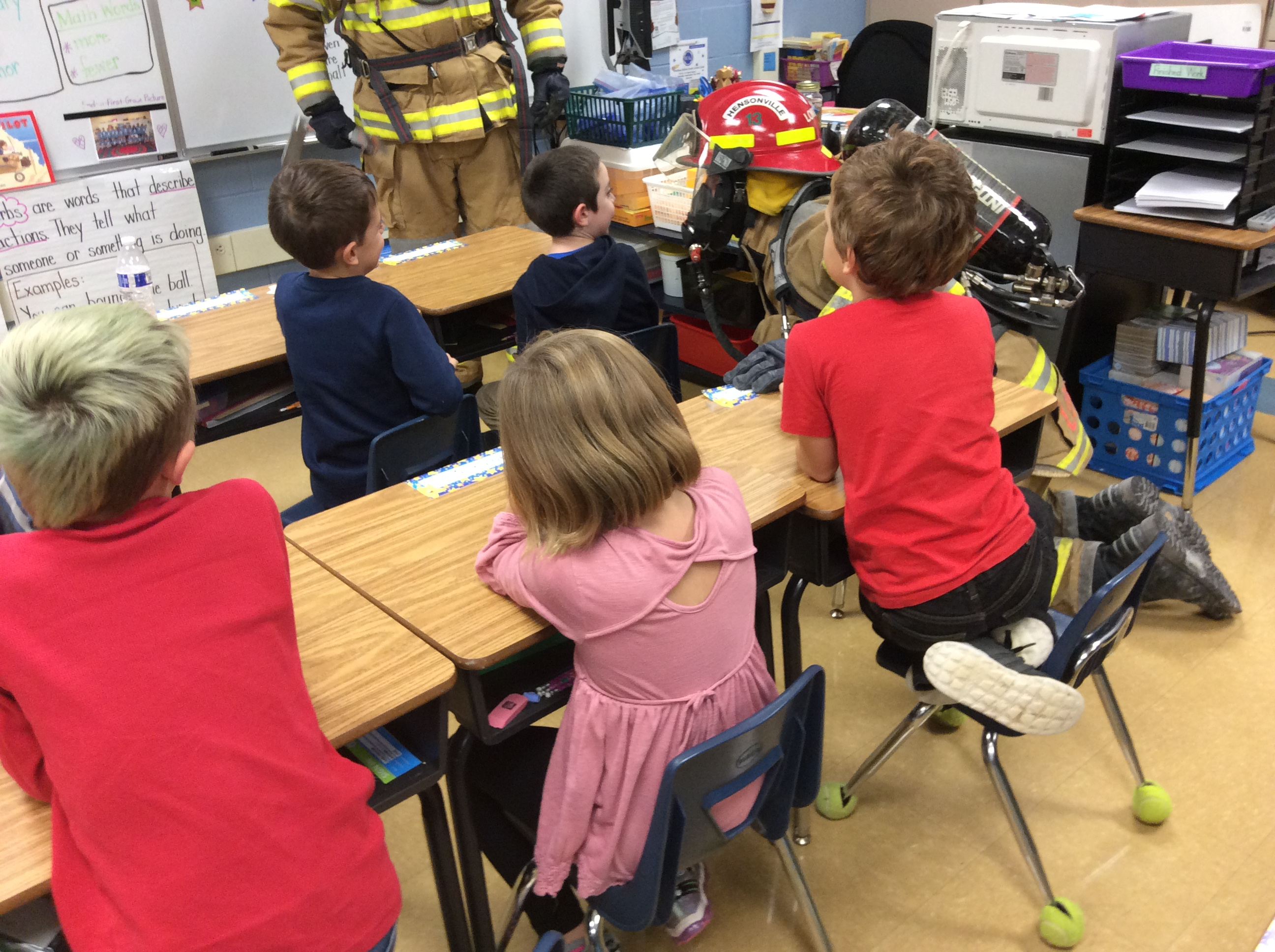 2nd grade firefighter