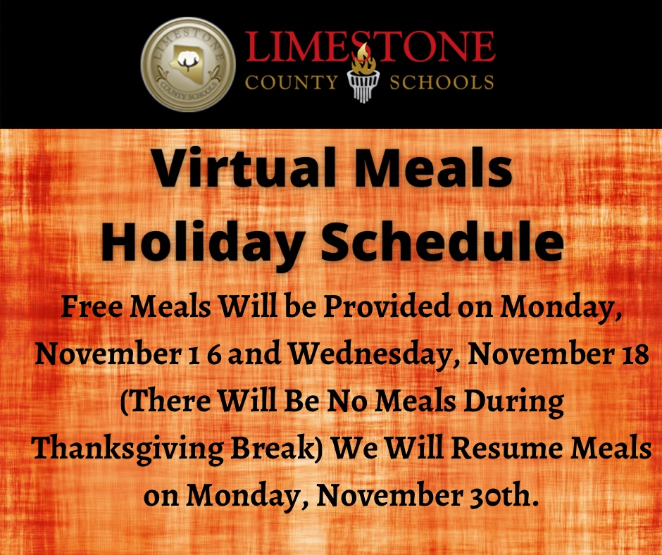 Thanksgiving Break Info