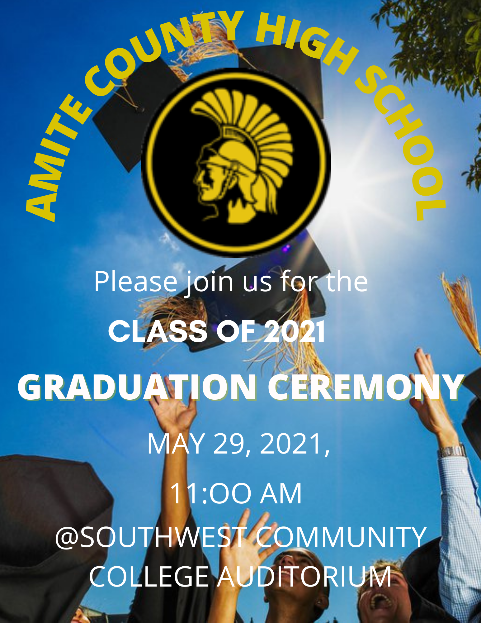 Amite County High School Graduation