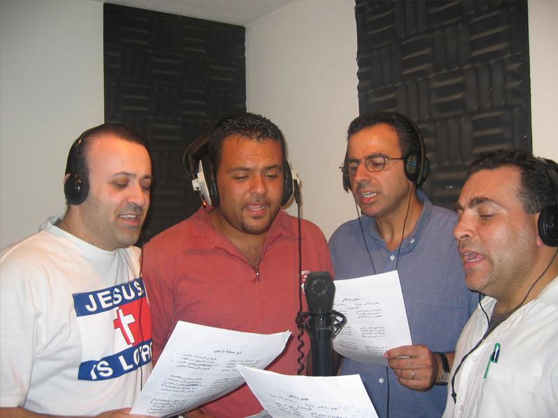 Recording at Intisar Studio