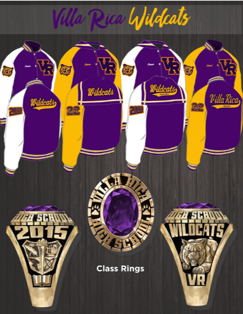 Letterman Jacket and Classring