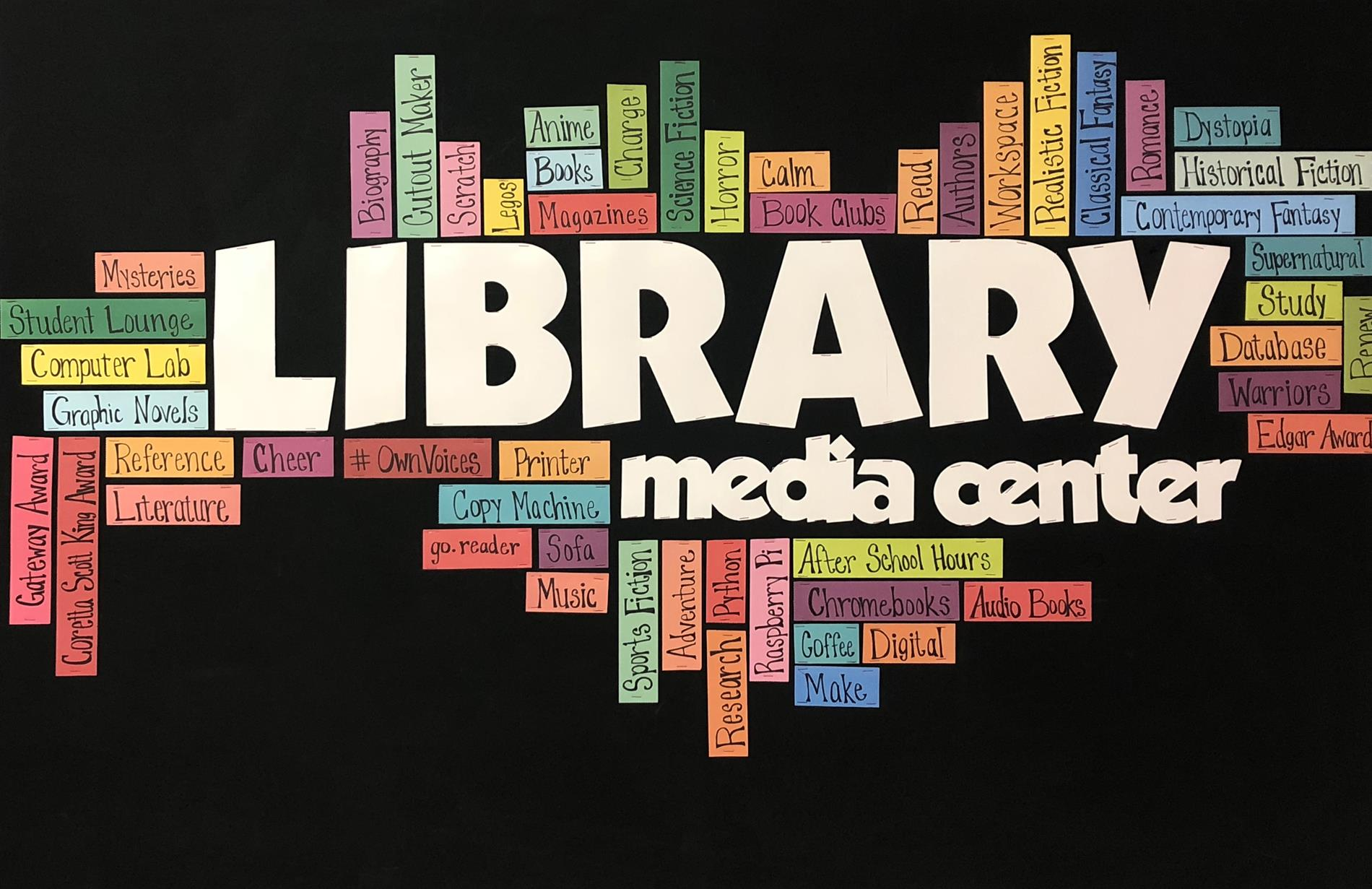 Library and Media Center Logo