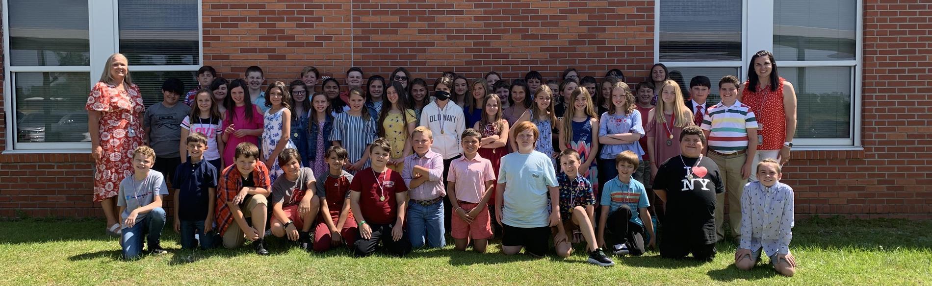 2020-2021 5th Grade Students