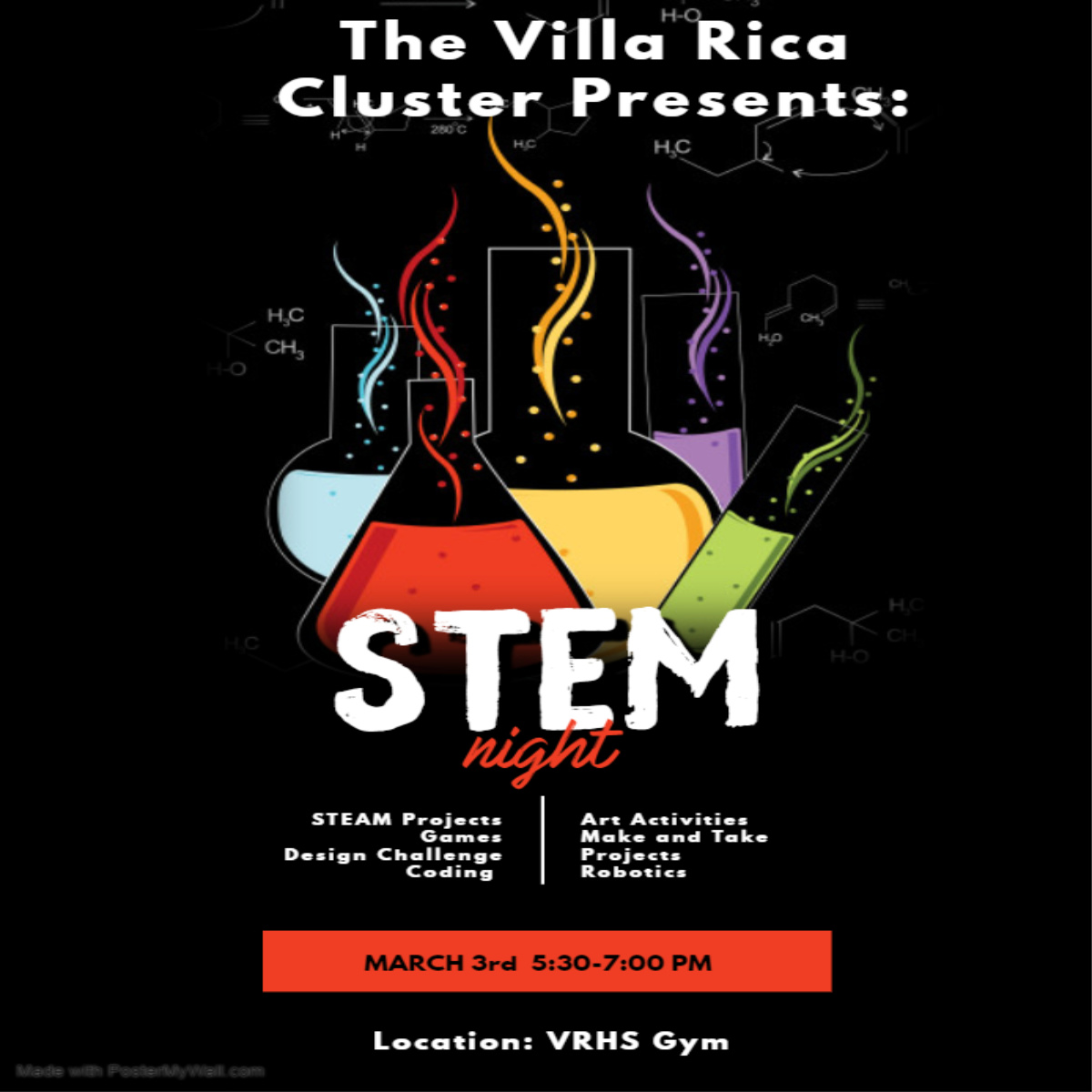 STEM Night Flyer