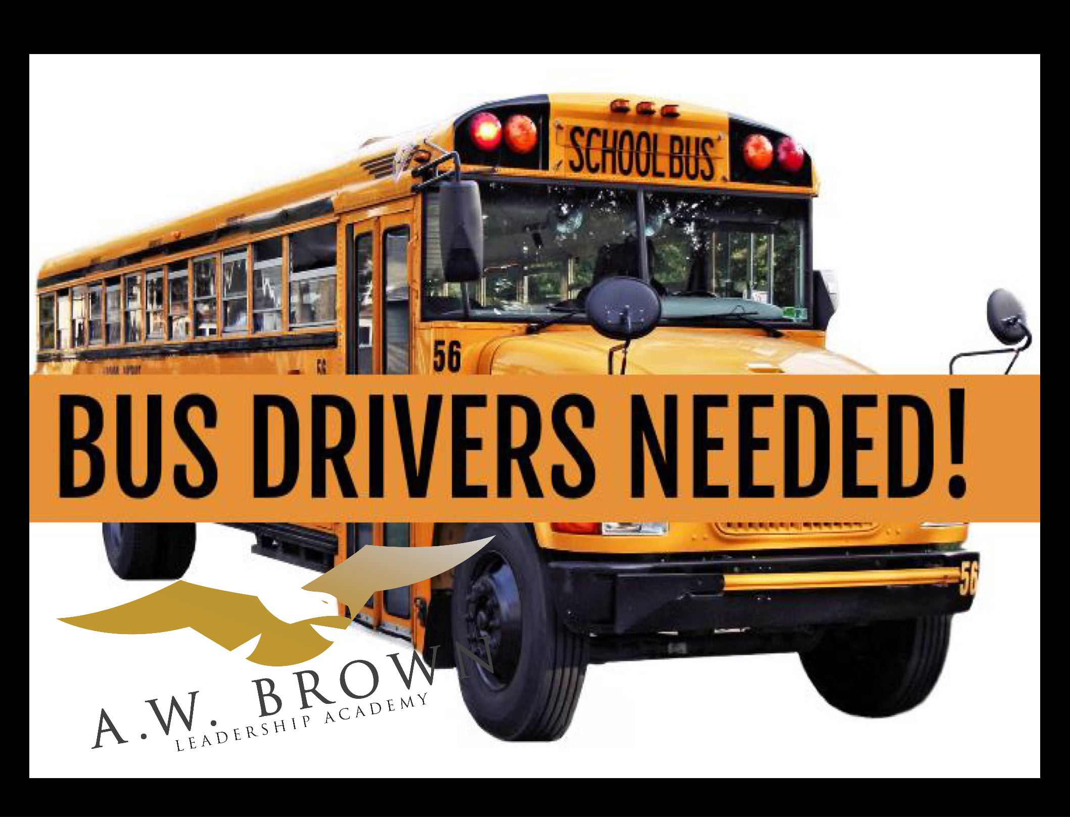 Now Hiring Bus Drivers!!