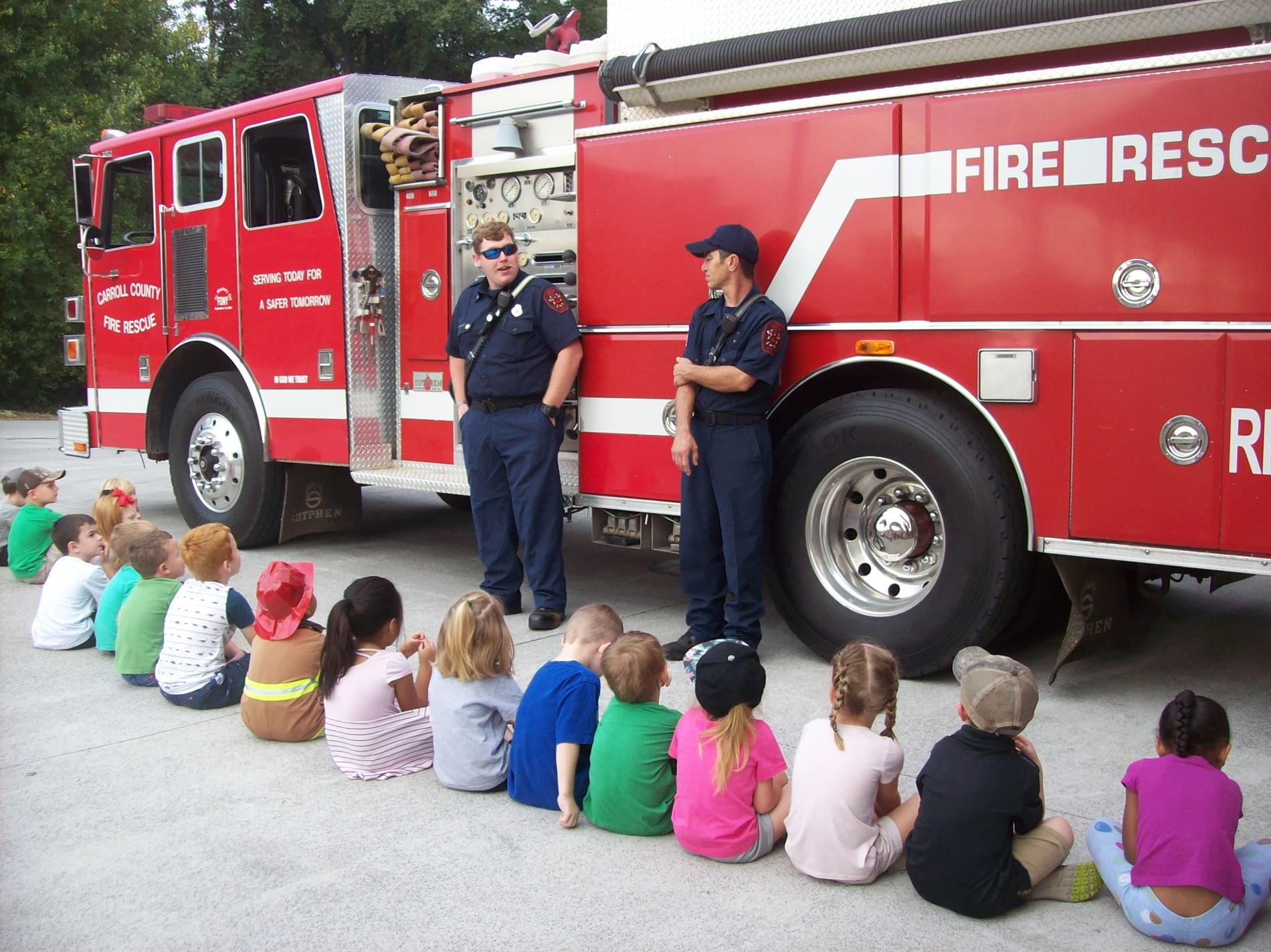 Prek and Fire Truck