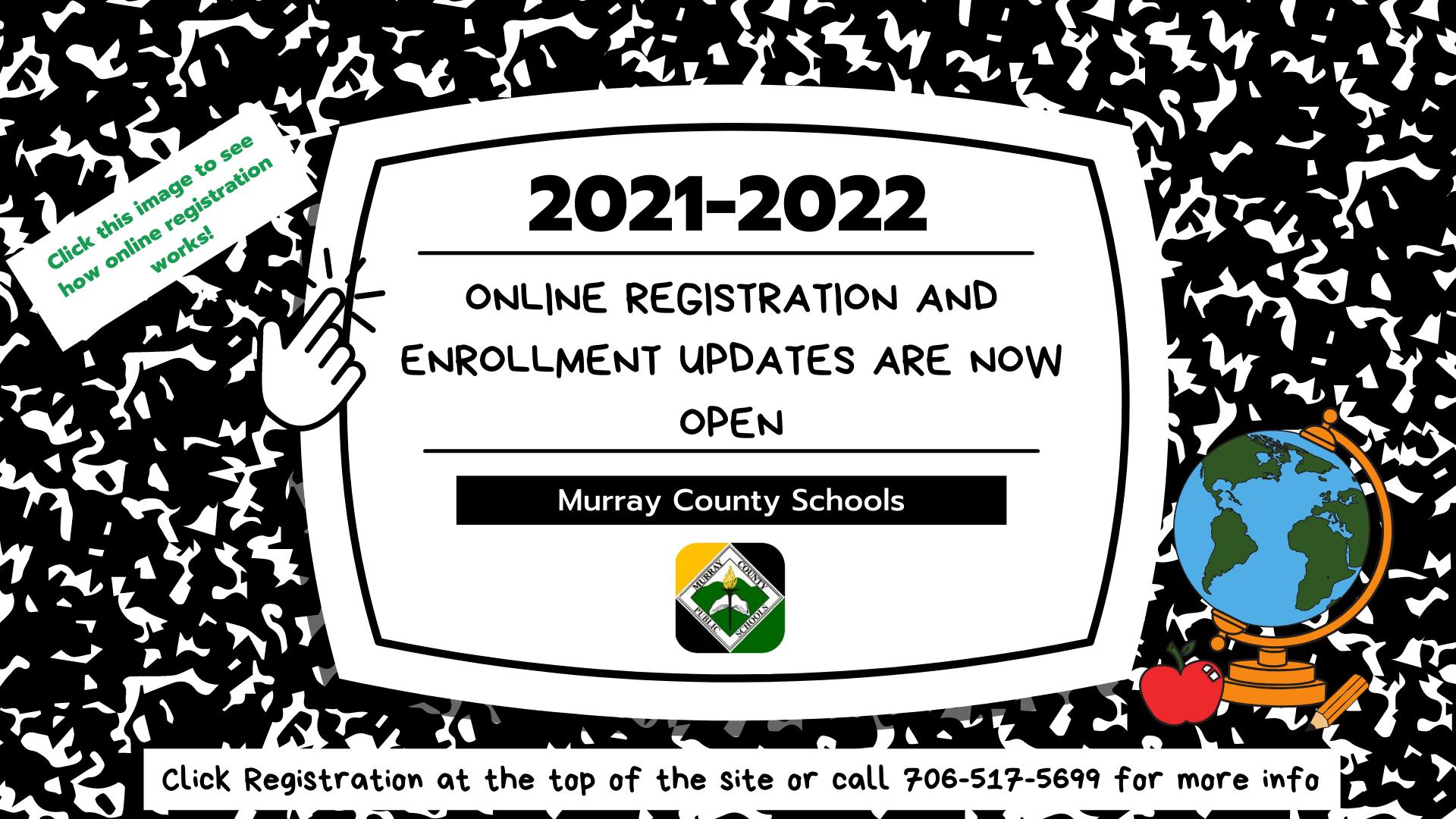 Registration now open