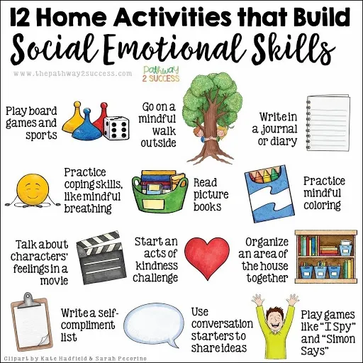 12 Home Activities for SEL