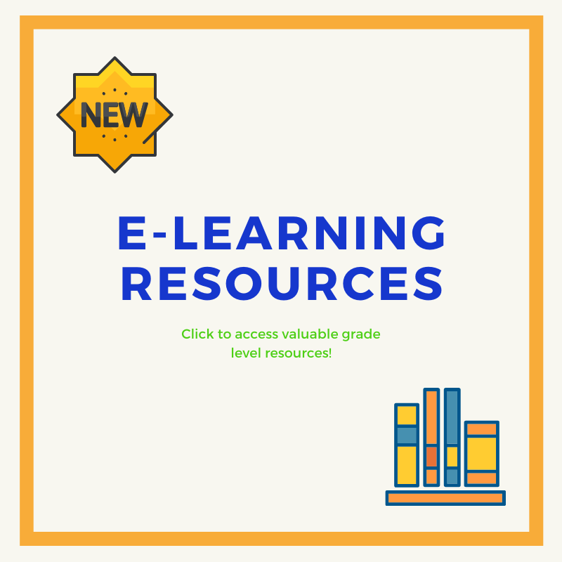 e-Learning Resources for At Home Learning