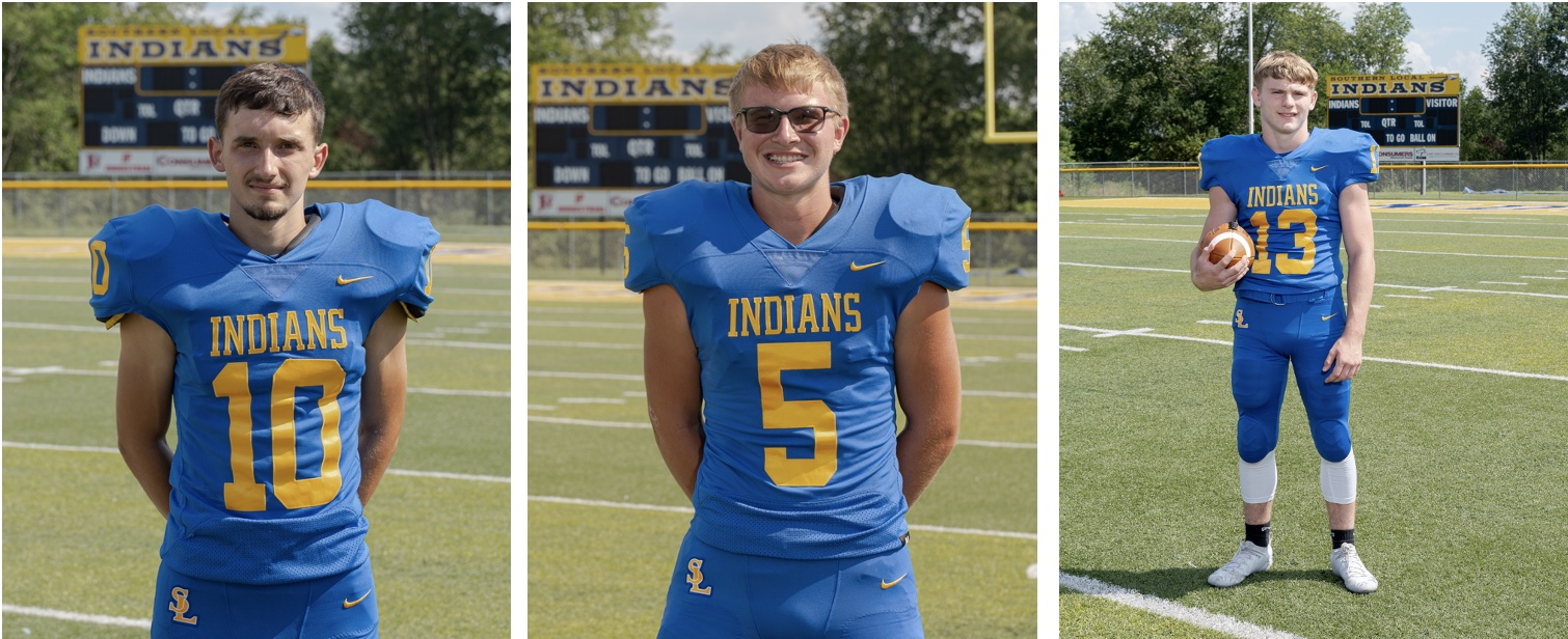 Josh Pratt, Timmy West, and Chance Wooley received Honorable Mentions from the Northeast Inland District.