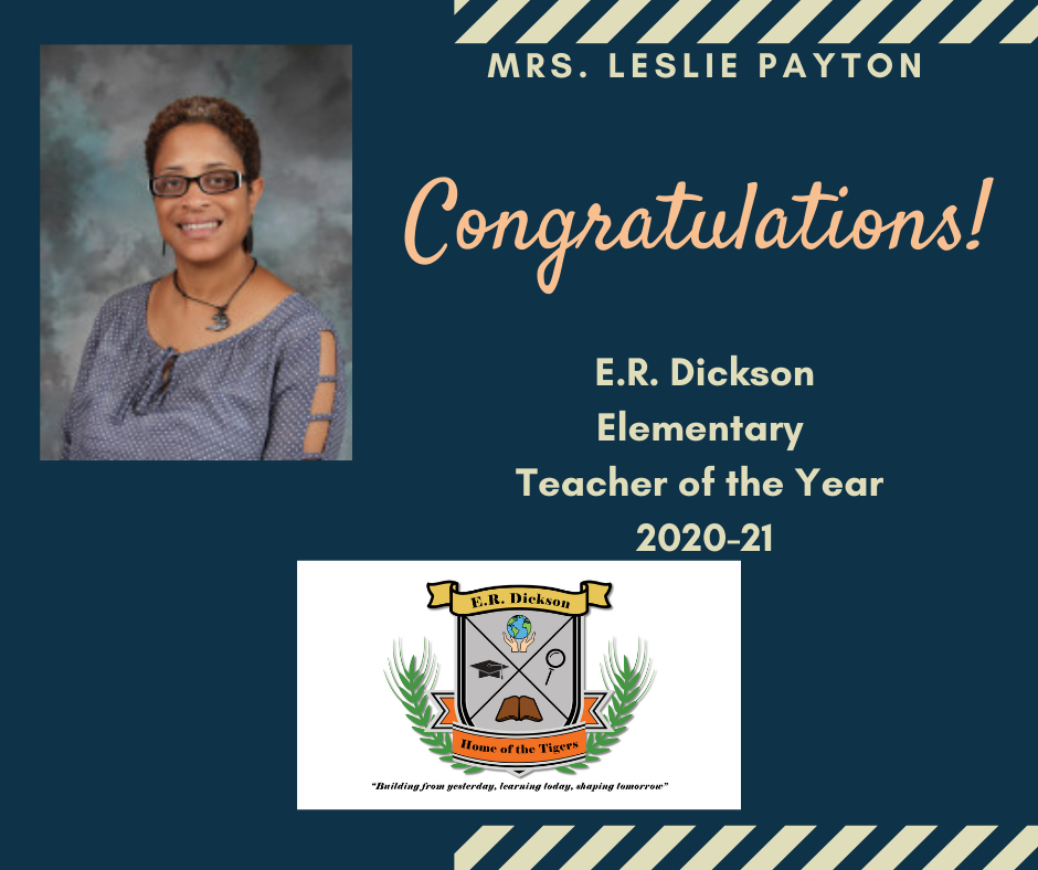 Teacher of the Year - Mrs. Payton