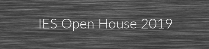 IES open house 2019 video link