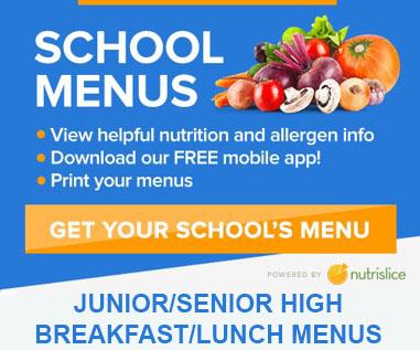 Jr Sr High School Menus