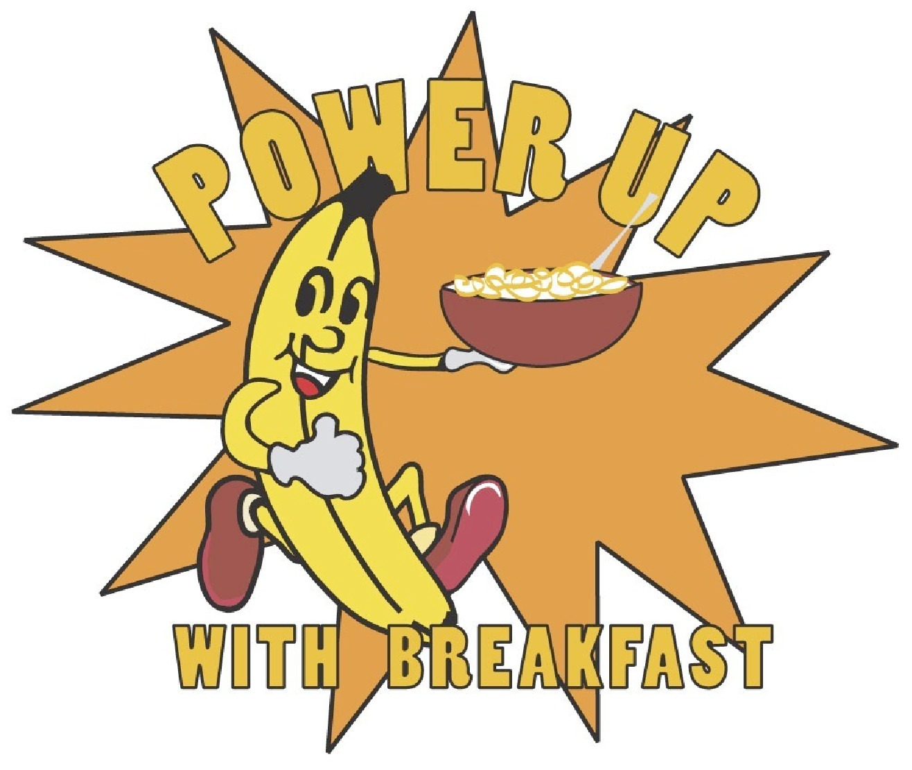 power up with breakfast