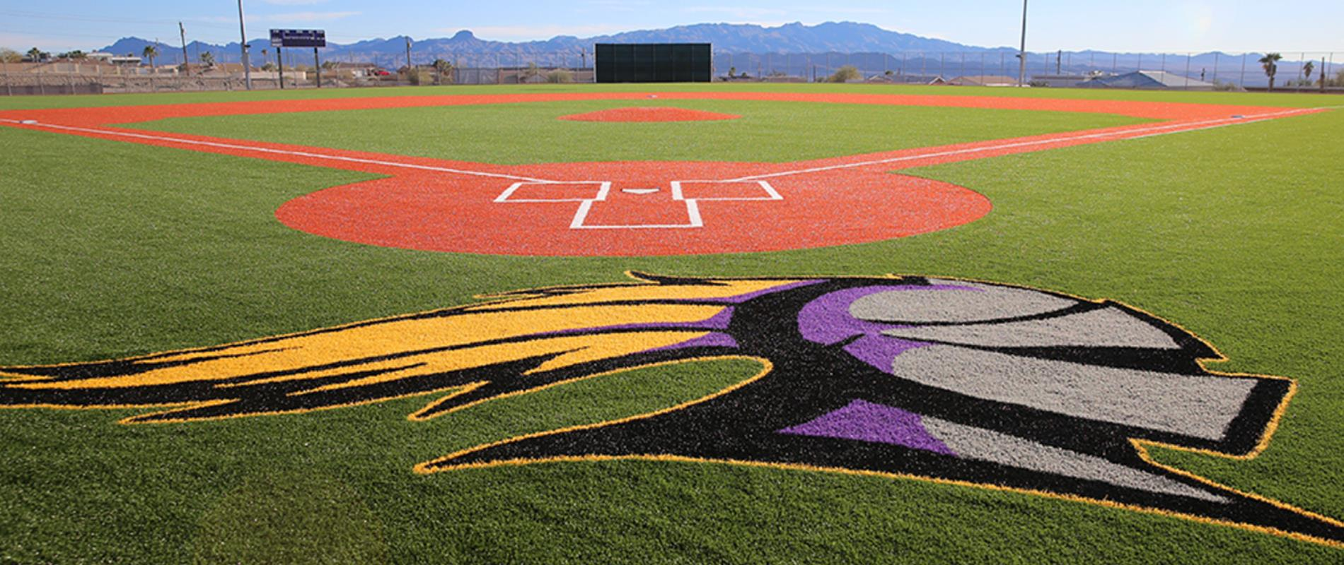 picture of new LHHS baseball field