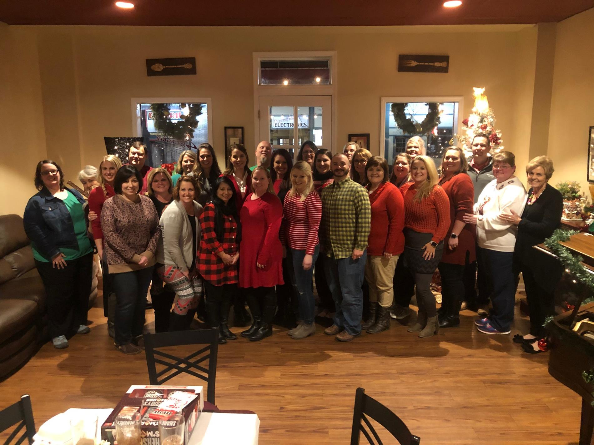 Faculty and Staff Christmas Party