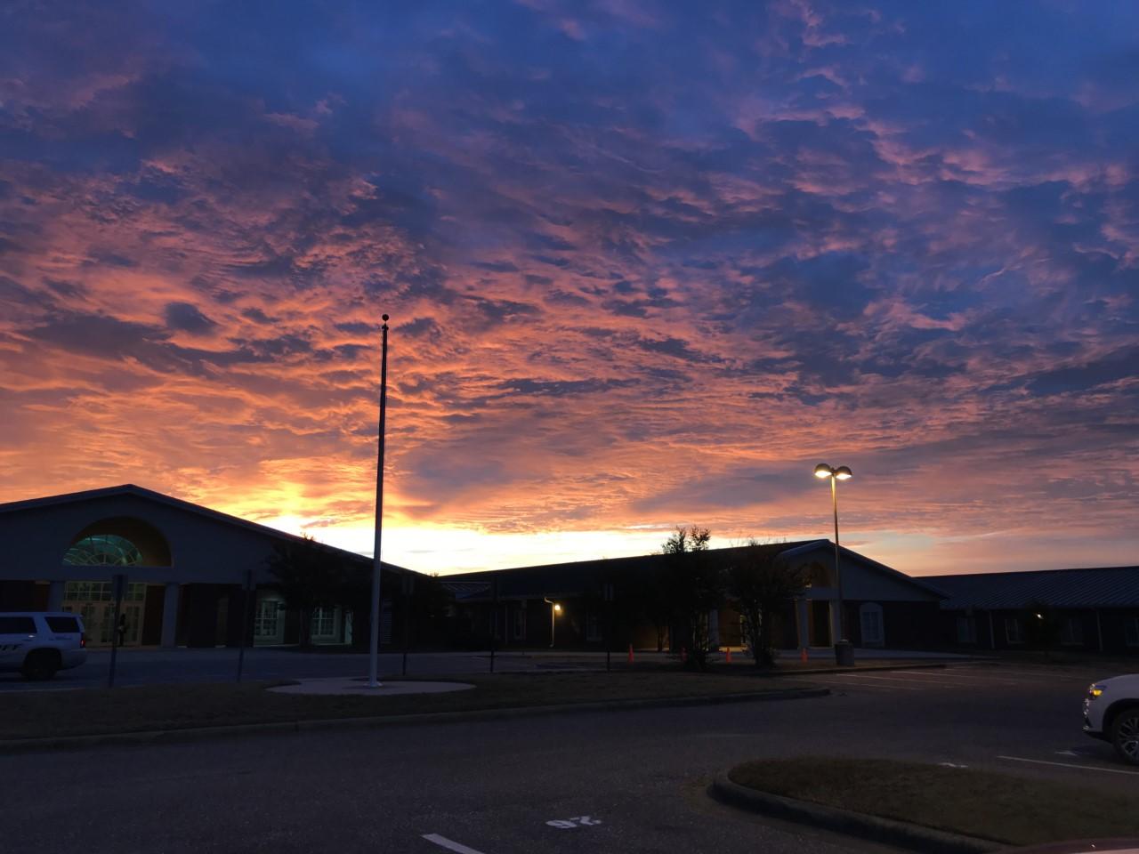 Sunrise at Billingsley School