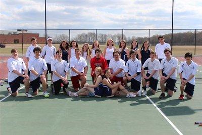 Tennis Team Picture