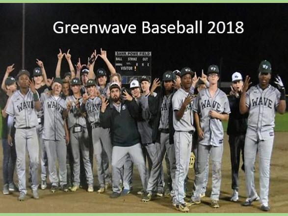 Greenwave Baseball 2018