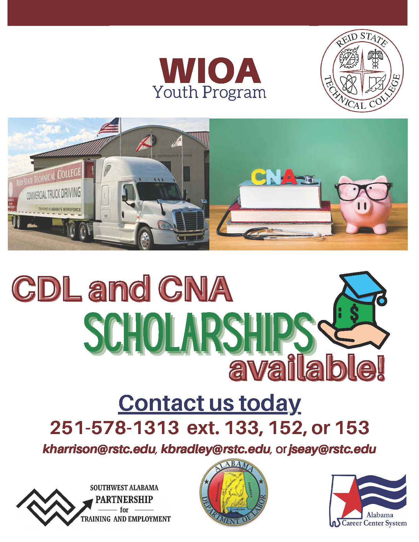 WIOA Scholarships