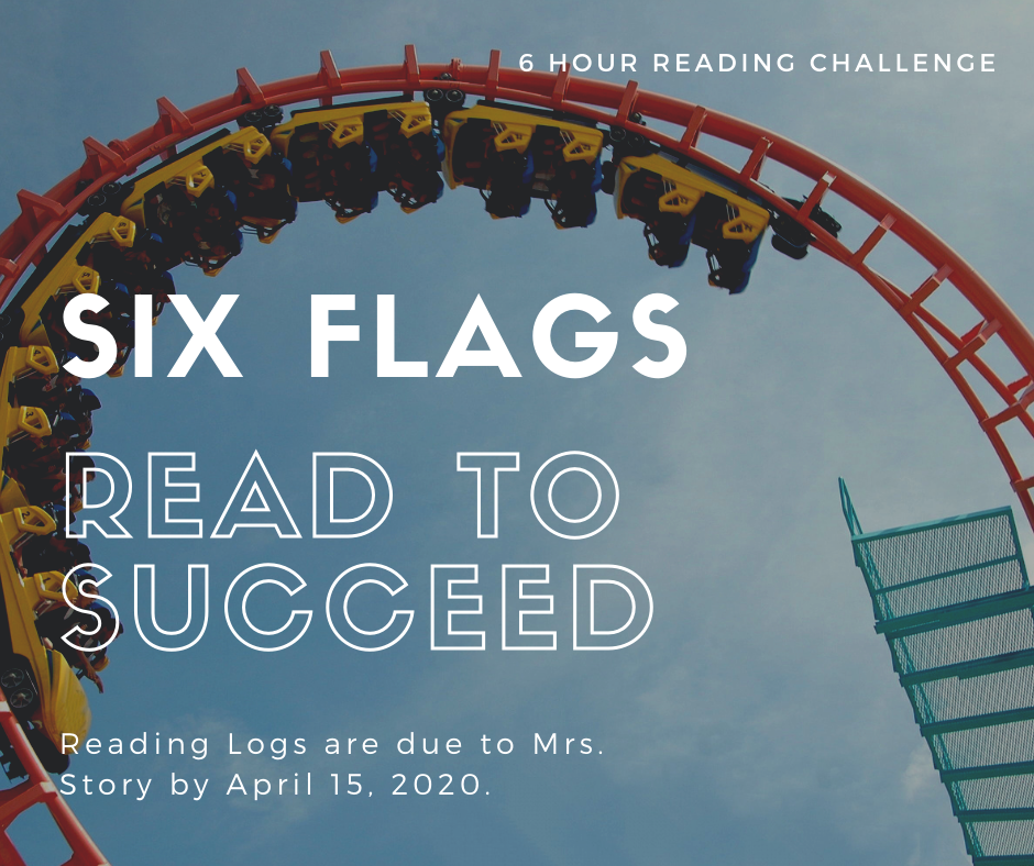 Six Flags Reading Challenge