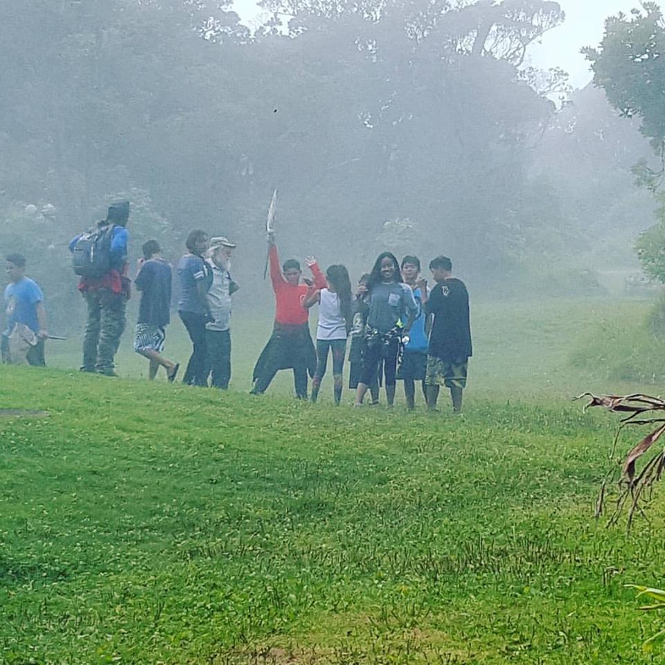 Foggy Koke'e Invasive plants eradication day