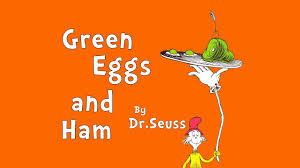 Green egg and ham