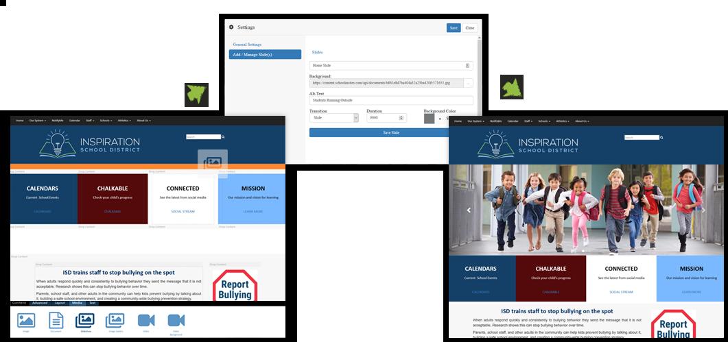 Website Control Panels